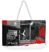 Film Noir Charles Bronson Death Wish 1974 Stunt Man Old Tucson Arizona 1968 Color Added 2012 Weekender Tote Bag
