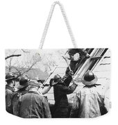 Film Noir Harry Morgan Jack Webb Allan Ladd Appointment With Danger 1951 Gas Explosion Aberdeen Sd Weekender Tote Bag