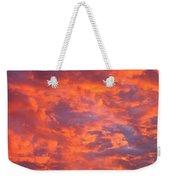 Film Noir Homage Leave Her To Heaven Number 1 Fiery Clouds Casa Grande Arizona 2005 Weekender Tote Bag