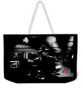 Film Noir Tom Neal Ann Savage Edgar Ulmer Detour 1945 Screen Capture Color Added 2012 Weekender Tote Bag