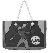 Fire Eater In Black And White Weekender Tote Bag