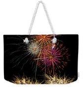 Fireworks  Weekender Tote Bag by Saija  Lehtonen