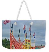 Fireworks Stand Weekender Tote Bag by Cathy Anderson
