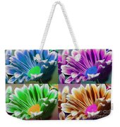 Firmenish Bicolor Pop Art Shades Weekender Tote Bag