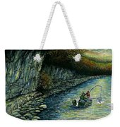 Fishing Buddies Weekender Tote Bag