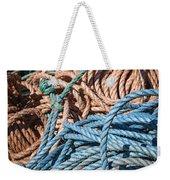 Fishing Ropes Weekender Tote Bag