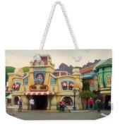 Five And Dime Disneyland Toontown Signage Weekender Tote Bag