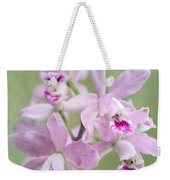 Five Beautiful Pink Orchids Weekender Tote Bag