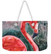Flamingo Icon Weekender Tote Bag