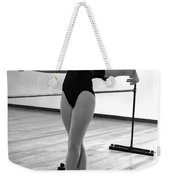Flexibility Bw Weekender Tote Bag