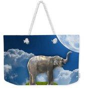 Flight Of The Elephant Weekender Tote Bag