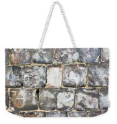 Flint Stone Wall Weekender Tote Bag