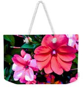 Floral Beauty Weekender Tote Bag