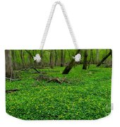 Floral Forest Floor Weekender Tote Bag