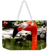 Florida Pink Flamingo Weekender Tote Bag
