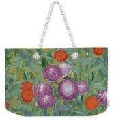 Flower Garden Weekender Tote Bag