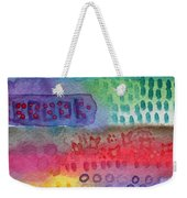 Flower Garden Weekender Tote Bag by Linda Woods