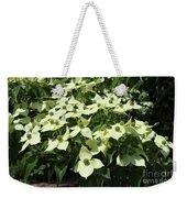 Flowering Dogwood Weekender Tote Bag