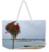 Flowers Along The Seafront Weekender Tote Bag