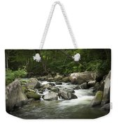 Flowing Stream In Vermont Weekender Tote Bag