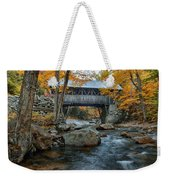 Flume Gorge Covered Bridge Weekender Tote Bag