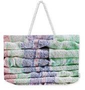 Folded Fabric Weekender Tote Bag