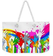 1 For All - All For 1 Weekender Tote Bag