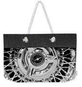 Ford Thunderbird Wheel Emblem Weekender Tote Bag