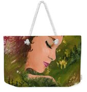 Forest Girl Weekender Tote Bag