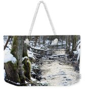 Forest Lights Weekender Tote Bag