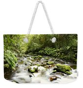 Forest Stream Weekender Tote Bag by Les Cunliffe