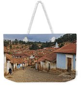forgotten village Totora Weekender Tote Bag