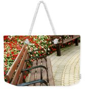 Formal Garden Weekender Tote Bag