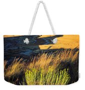 Fossil Beds And Grass Weekender Tote Bag