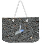Found Feather Weekender Tote Bag