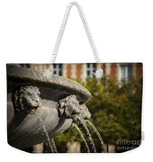 Fountain - Place Des Vosges Weekender Tote Bag