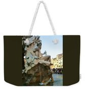 Fountain Of The Four Rivers Weekender Tote Bag