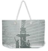 Fountain Square Weekender Tote Bag