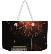Fourth Of July Fireworks At Washington Dc Weekender Tote Bag
