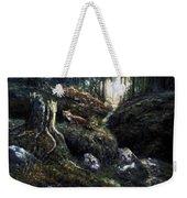 Fox In The Wood Weekender Tote Bag