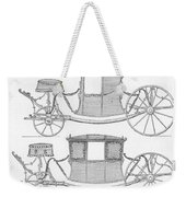 France Carriages, C1740 Weekender Tote Bag