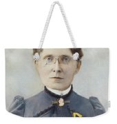 Frances Elizabeth Willard (1839-1898) Weekender Tote Bag