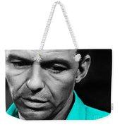 Frank Sinatra Art Weekender Tote Bag