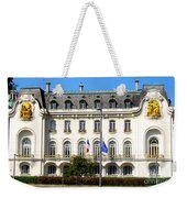 French Embassy In Vienna Weekender Tote Bag
