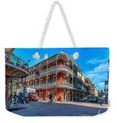 French Quarter Afternoon Weekender Tote Bag