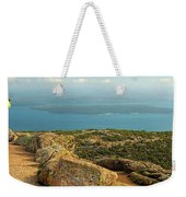Frenchman's Bay From Cadillac Mountain Weekender Tote Bag