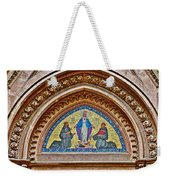 Fresco In Front Of Saint Anthony's Church In Istanbul-turkey  Weekender Tote Bag
