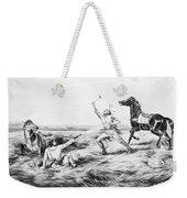 Frontiersman, 1858 Weekender Tote Bag