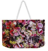 Frost On Autumn Tundra Weekender Tote Bag