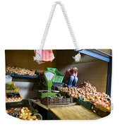Fruit Stand Woman Weekender Tote Bag